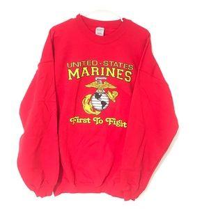 United States Marines crewneck